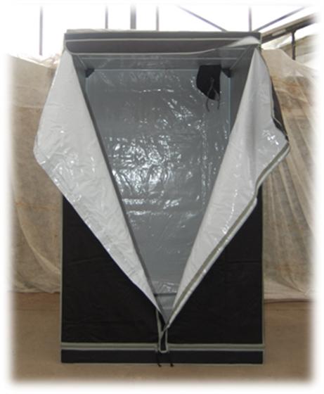greenbud xl growbox 120x120x200 mylar kaufen bei. Black Bedroom Furniture Sets. Home Design Ideas