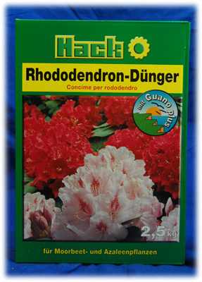 hack rhododendrond nger 2 5kg rhododendron d nger guano ebay. Black Bedroom Furniture Sets. Home Design Ideas