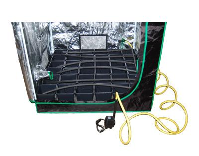 tropfbew sserung mit pumpe f r bis zu 48 pflanzen ebay. Black Bedroom Furniture Sets. Home Design Ideas